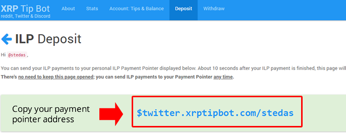 Payment-pointer
