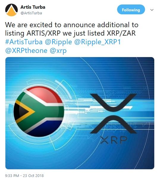 Artis Tweet Announcement