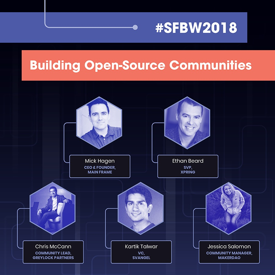 Screenshot of Conference Agenda for Building Open Source