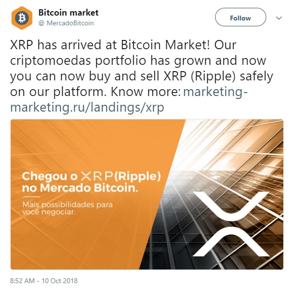 Mercado Tweet