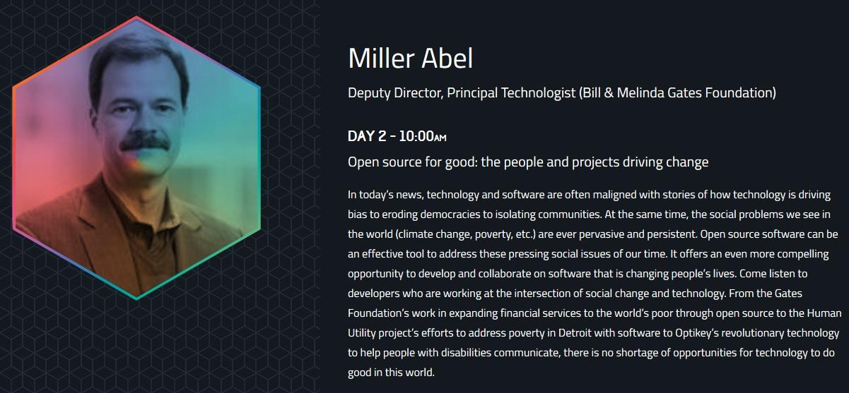 Miller Abel Github Universe