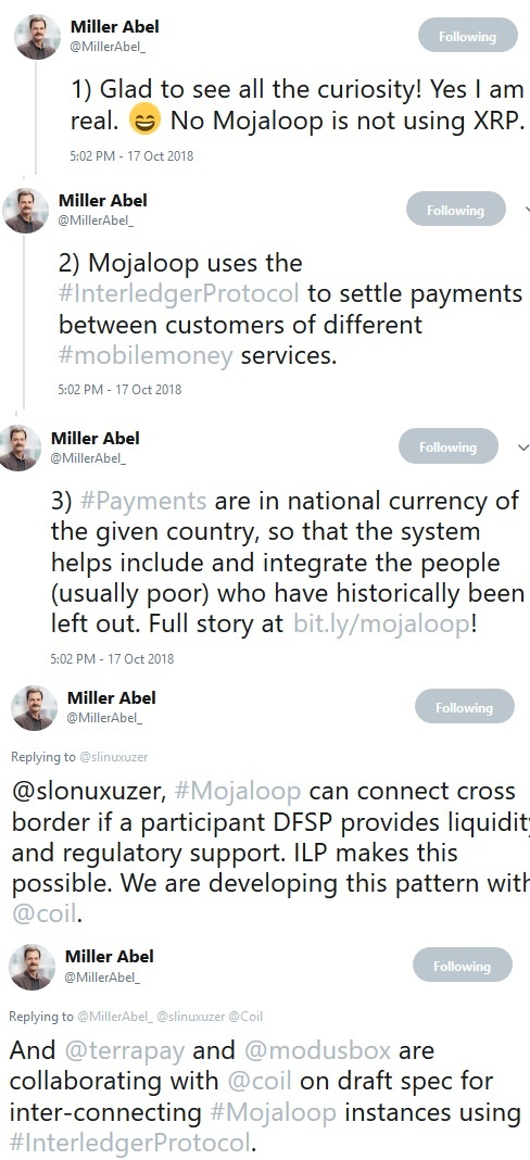Miller Abel Tweet