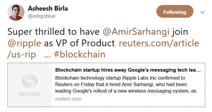 Amir Sarhangi Tweet