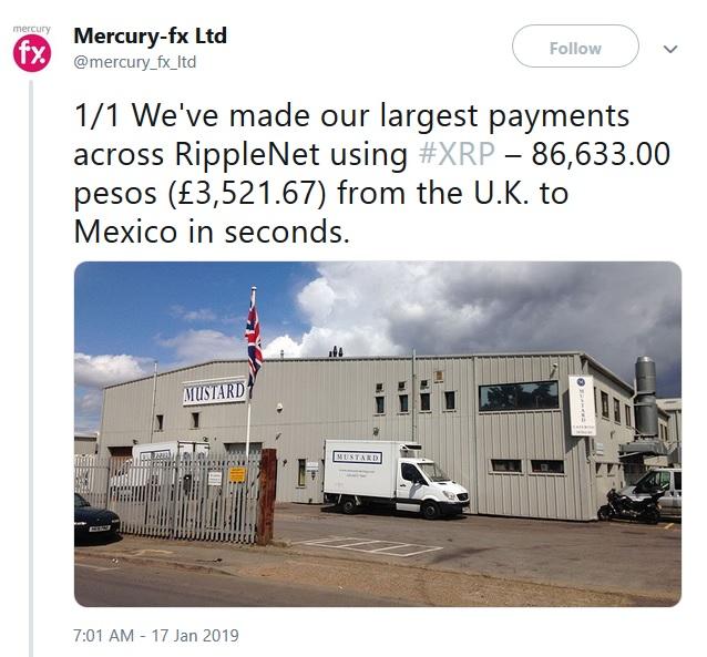 MercuryFX Tweet