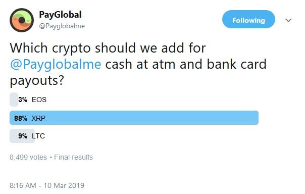 PayGlobals Tweet
