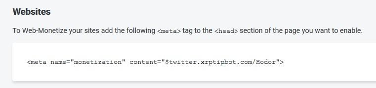 Meta tag Coil