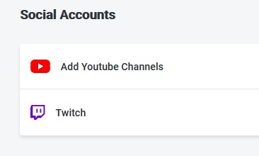 Social accounts Coil
