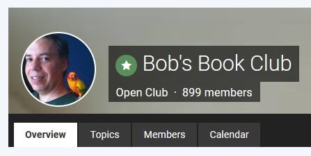snapshot of Bob Ways Book Club on XRP Chat