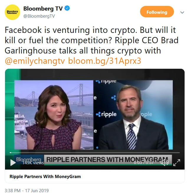 Bloomberg Interview