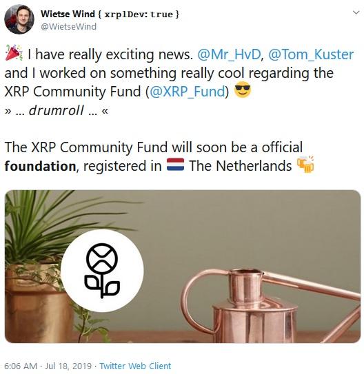 XRP Community Fund