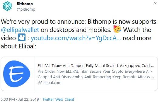 Bithomp Tweet