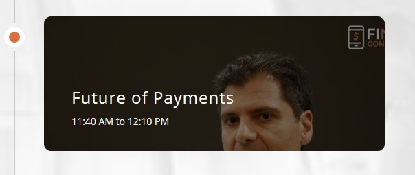 Future of Payments agenda link and image