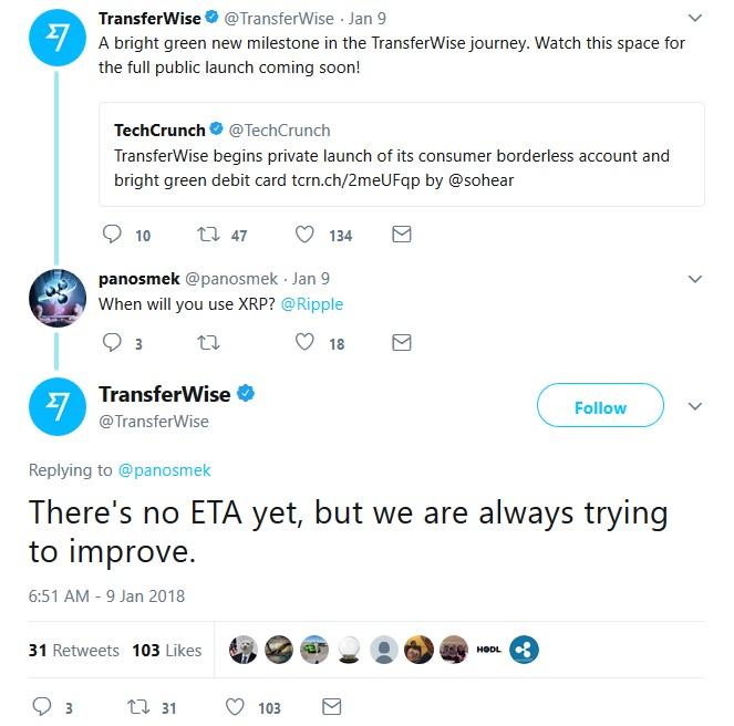 TransferWiseTweet