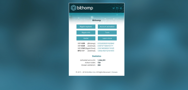 Bithomp Tools - Using Offline Mode